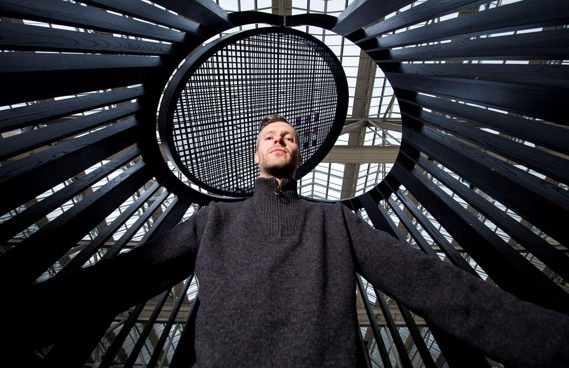 New Charles Rennie Mackintosh-inspired artwork unveiled at Glasgow Central: Mackintosh Light Pavilion, Scott Jarvie