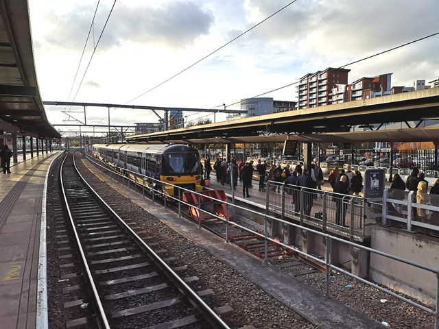 Passengers urged to check before they travel over Christmas as improvement work continues at Leeds station