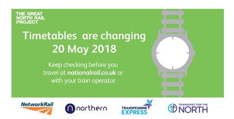 Customers urged to check before they travel ahead of major timetable change