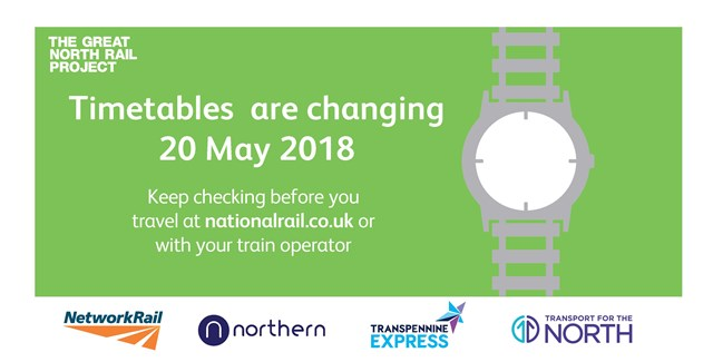 Customers urged to check before they travel ahead of major timetable change: Customers urged to check before they travel ahead of major timetable change