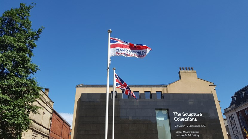 Armed Forces Week celebrations to begin in Leeds with flag-raising ceremony this Saturday: afdflag.jpg