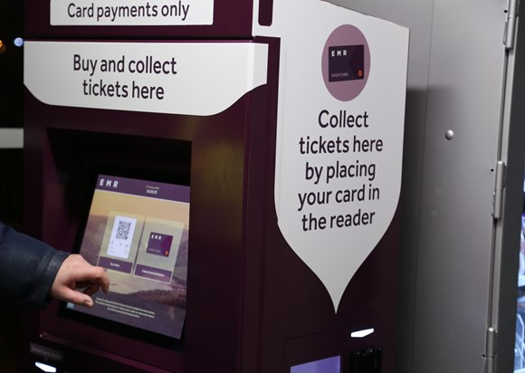 East Midlands Railway to offer country's first 'Smart Kiosk' ticket machines: Smart Kiosk Derby-2