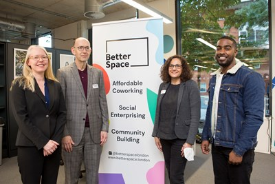 Better Space affordable workspace opens for business in major boost for Islington's inclusive economy