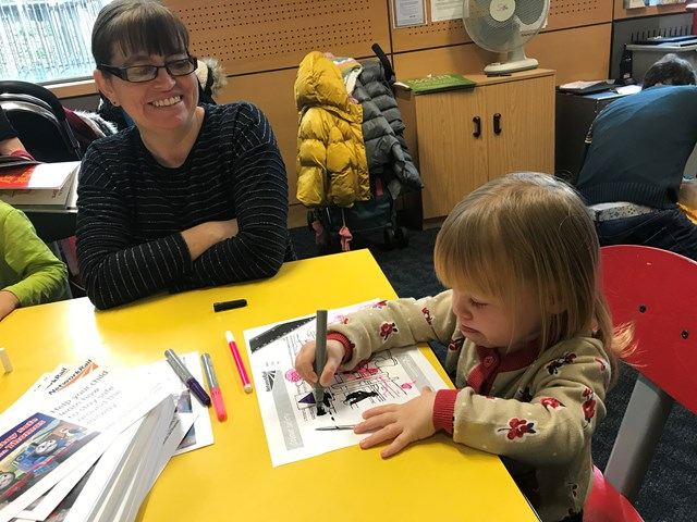 Stay Safe with Thomas launch activity sessions Norwich Library