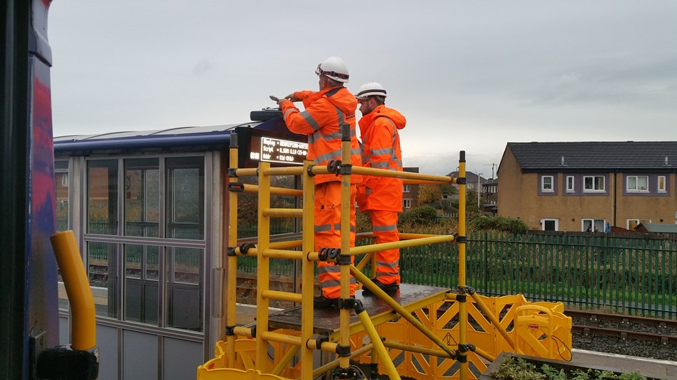 Northern makes 1,000 improvements at region's stations: Morecambe Screen Install