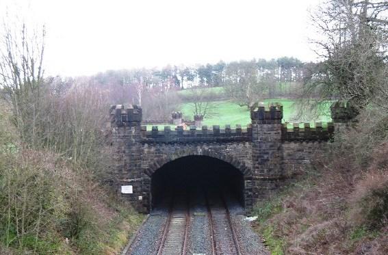 Historic turrets restored by Network Rail: Gisburn tunnel-2