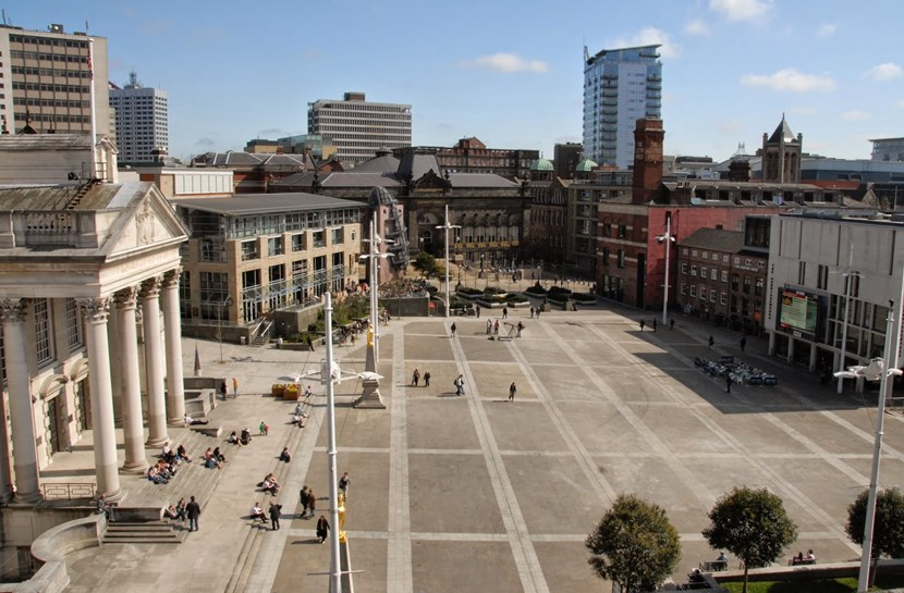 VE Day 70th anniversary to be commemorated in Leeds: millenniumsquare.jpg