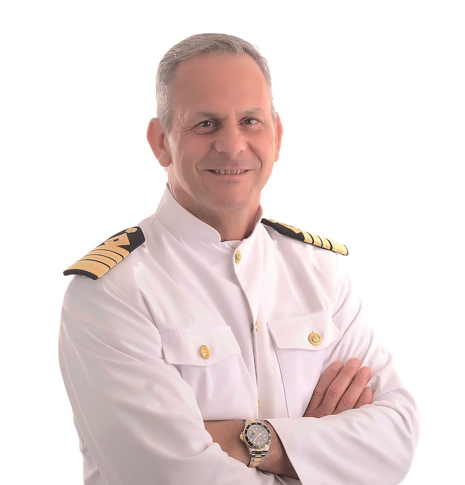 Captain Jason Ikiadis: Captain Jason Ikiadis is one of Saga Cruises' Captains who joined the cruise liner in 2021