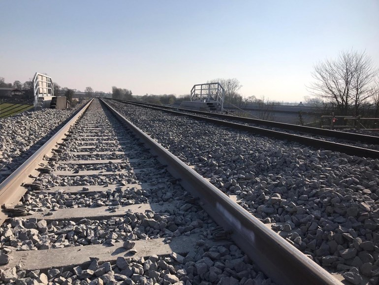 Railway in Somerset reopens to help keep key workers moving