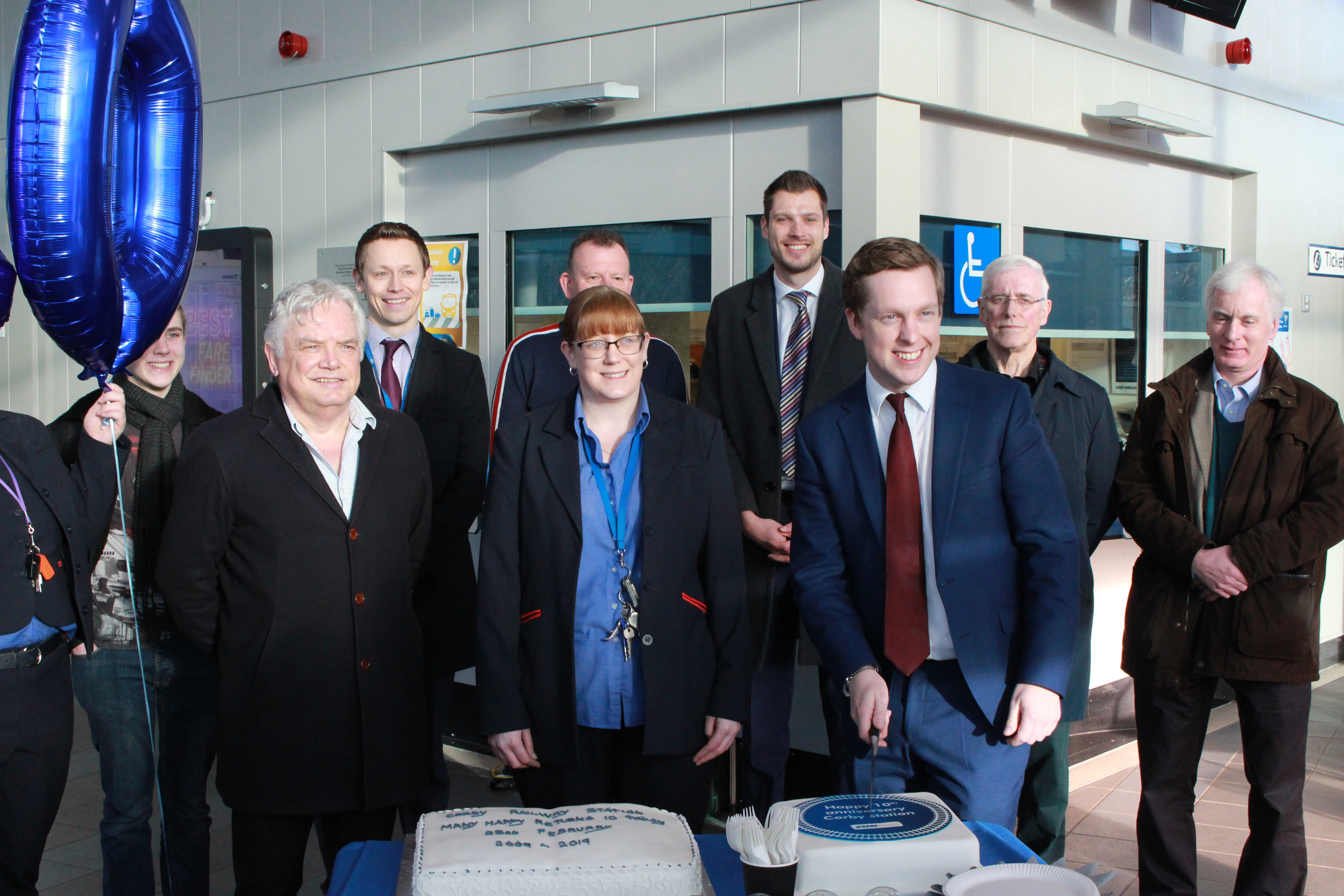 UPDATED with pictures - Media Invite: Celebrating ten years of Corby station