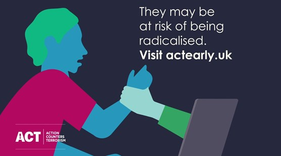 CTP launch new safeguarding website to combat 'perfect storm' of online radicalisation: ACTEarly image