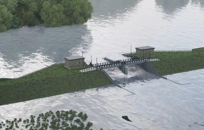 Councillors approve plans for multi-million pound flood defences in Leeds: Control gates