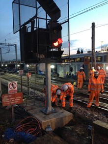 Watford area re-signalling programme: We are renewing the track and signalling on Europe's busiest mixed traffic railway through Watford Junction to provide a better, more reliable resilient railway.