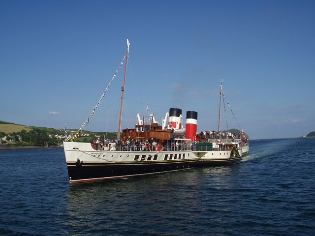 Waverley Paddle Steamer in Campbeltown