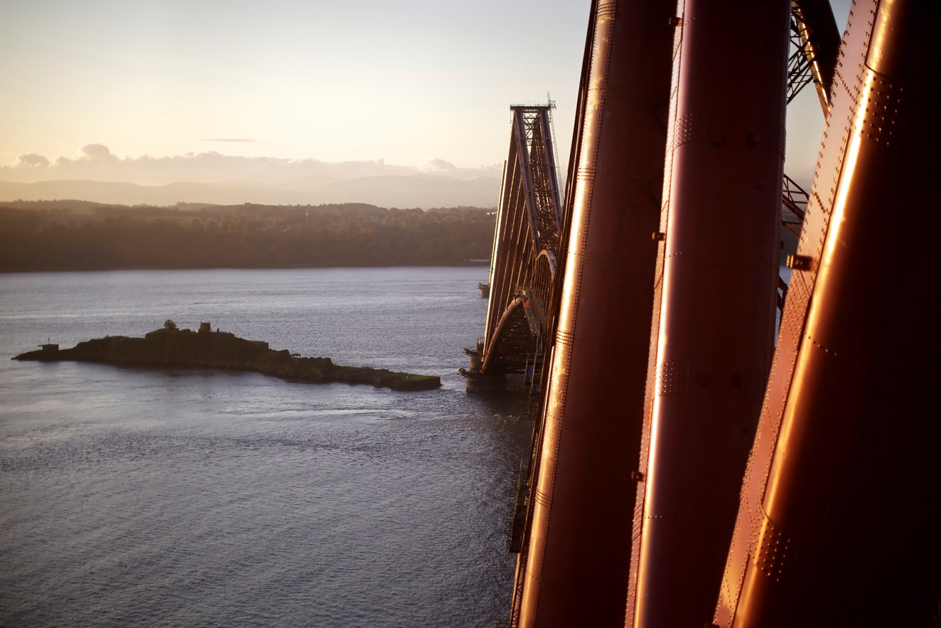 Forth Bridge to give visitors the climb of their life: Forth Bridge December 2011