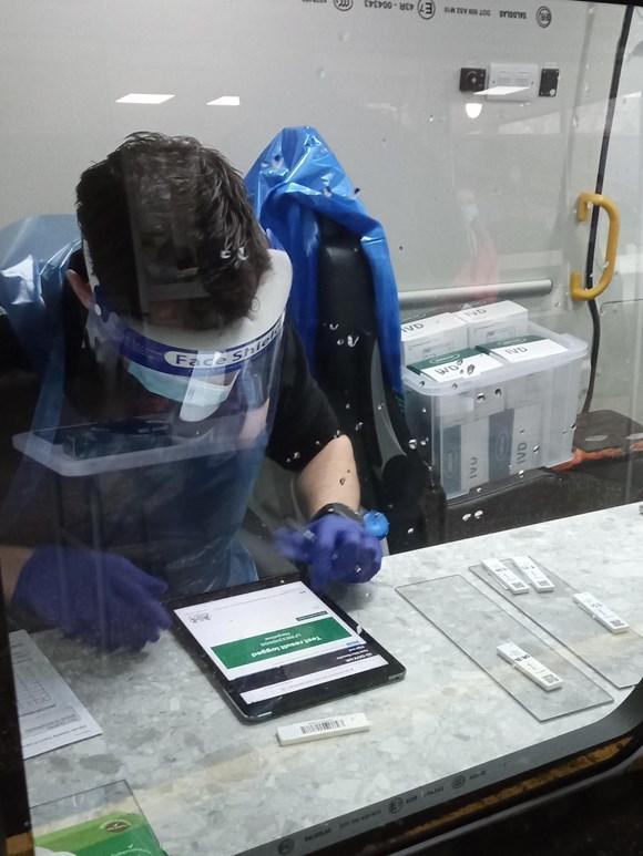 Rapid coronavirus tests now available across Devon: Mobile test