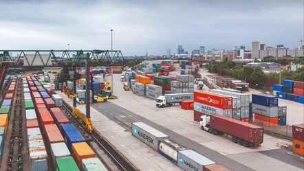 Rail freight industry calls for joined-up railway to build on the £1.7 billion economic benefits it already delivers: Freight depot