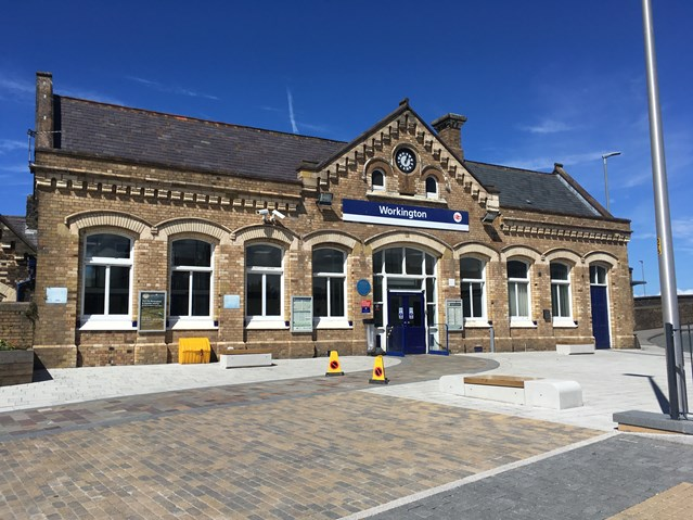 Cumbrian passengers to benefit from multi-million-pound stations investment: Workington Station