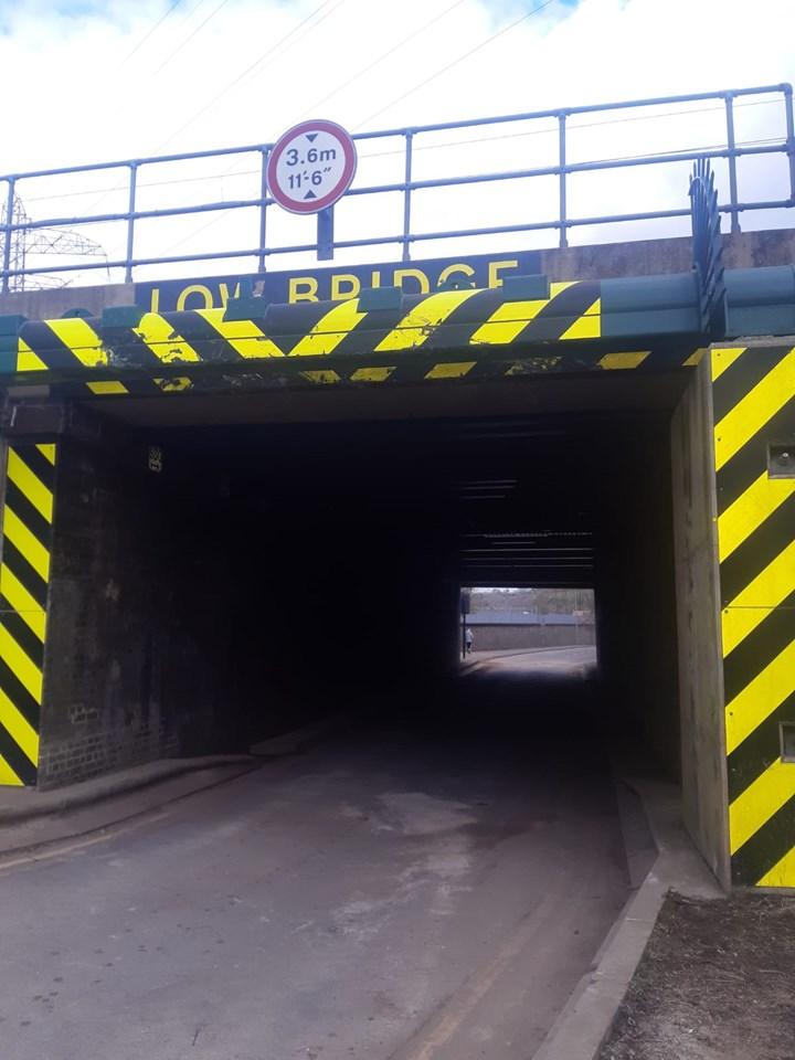 Network Rail completes vital project to improve two Grantham railway bridges: IMG-20210416-WA0010