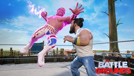 WWE2K BG British Bulldog