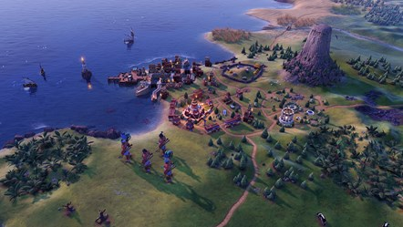 Civilization VI - New Frontier Pass - Maya & Gran Colombia Pack - Observatory District