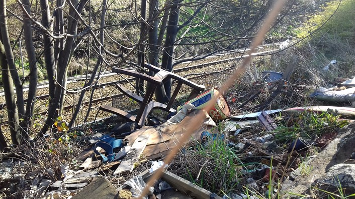 On the spot fines issued to unscrupulous waste dumpers: flytipfpn1altphoto.jpg