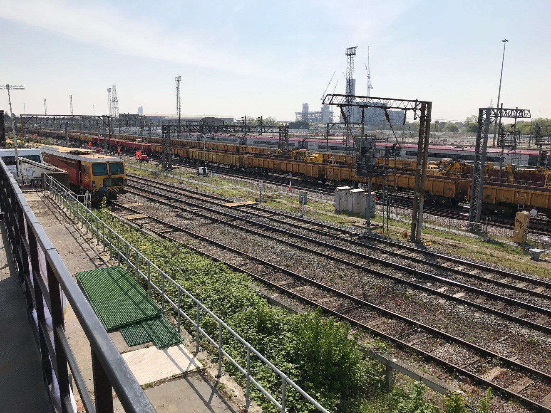 Willesden North Junction track work 3