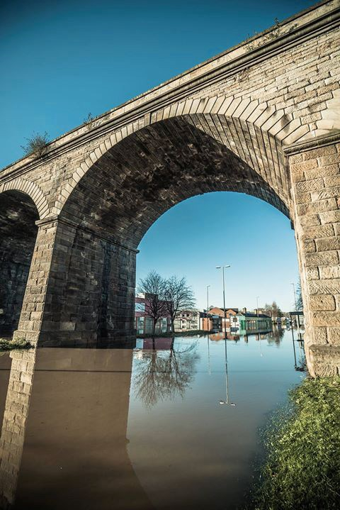 Exhibition remembers city's flood response one year on: viaductlowres.jpg