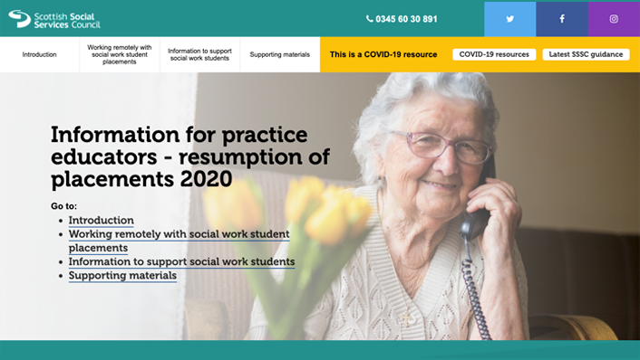 Information for practice educators resource (image)