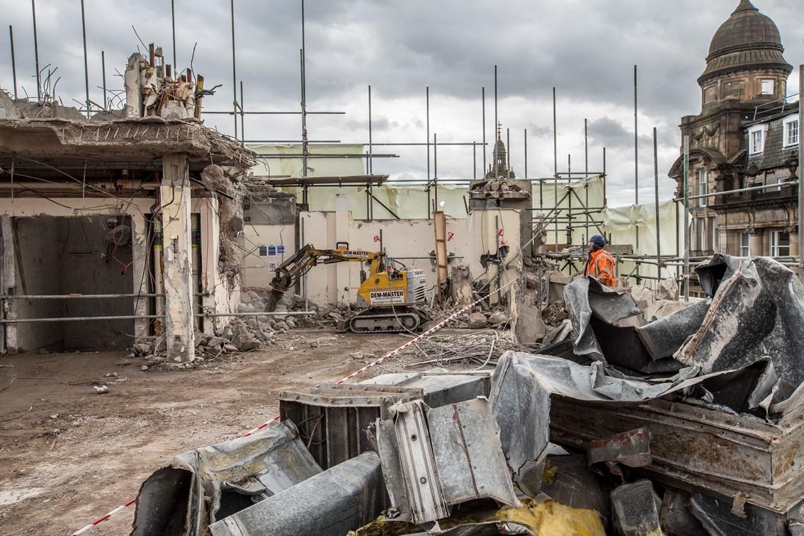 Queen Street demoliton 2