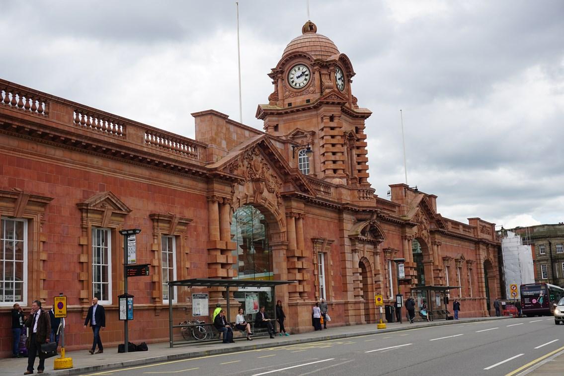 Terracotta decorations complete £60m redevelopment at Nottingham station: Nottingham station-3