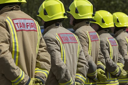 Minister sets out new vision for Wales' fire and rescue services: firefighers