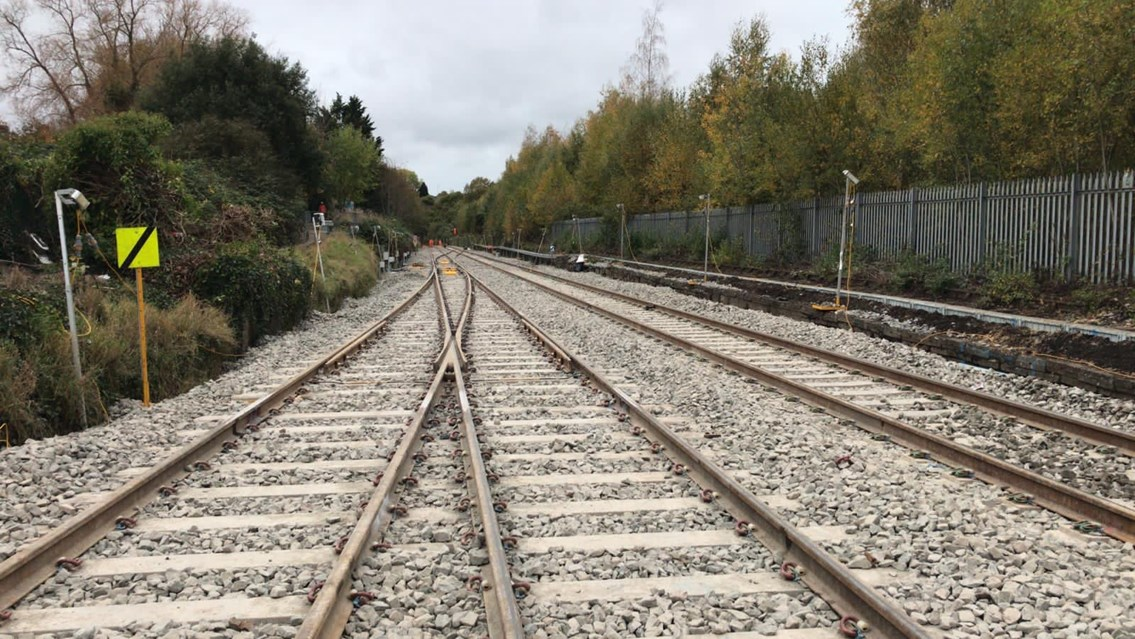 Rail improvement works to take place in West Cornwall: Generic track shot