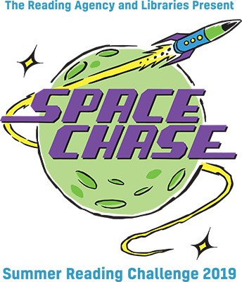 Space Chase! Theme of the Summer Reading Challenge 2019
