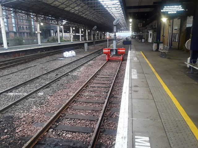 Vital upgrade to improve service for passengers completes at Huddersfield station