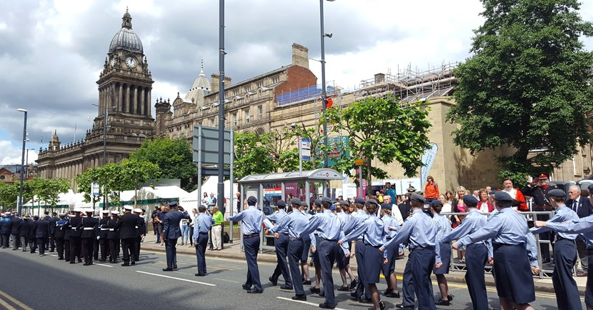 New home announced for this year's Leeds Armed Forces Day celebrations: parade2017.jpg