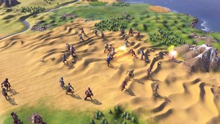Civiliation VI - New Frontier Pass - Zombie Defense - Surrounded