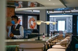 Saga Cruises' Spirit of Adventure - The Living Room bar area