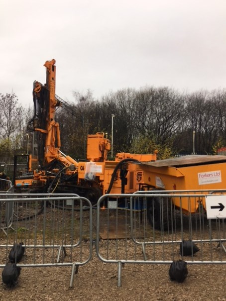 Drill on site at Kidsgrove