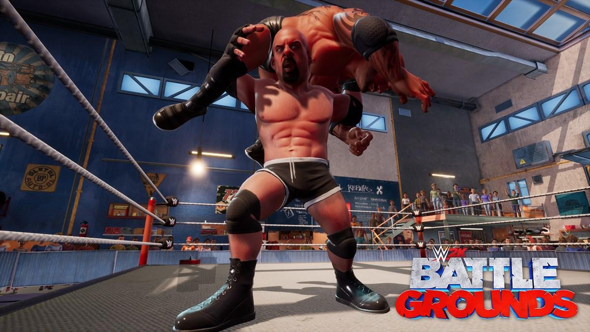 WWE2K BG Goldberg