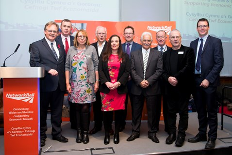 The Economy Infrastructure and Skills Committee at the Pierhead event