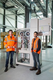 National College for High Speed Rail gets on track with Siemens' equipment donation