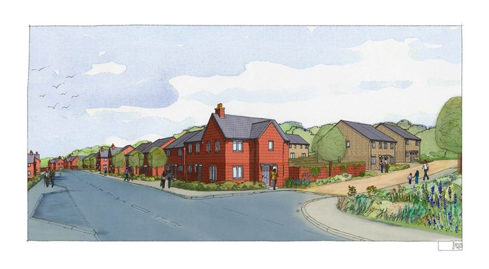Nearly 1,000 new homes for east Leeds given planning go-ahead   : wykebecksvisual.jpg