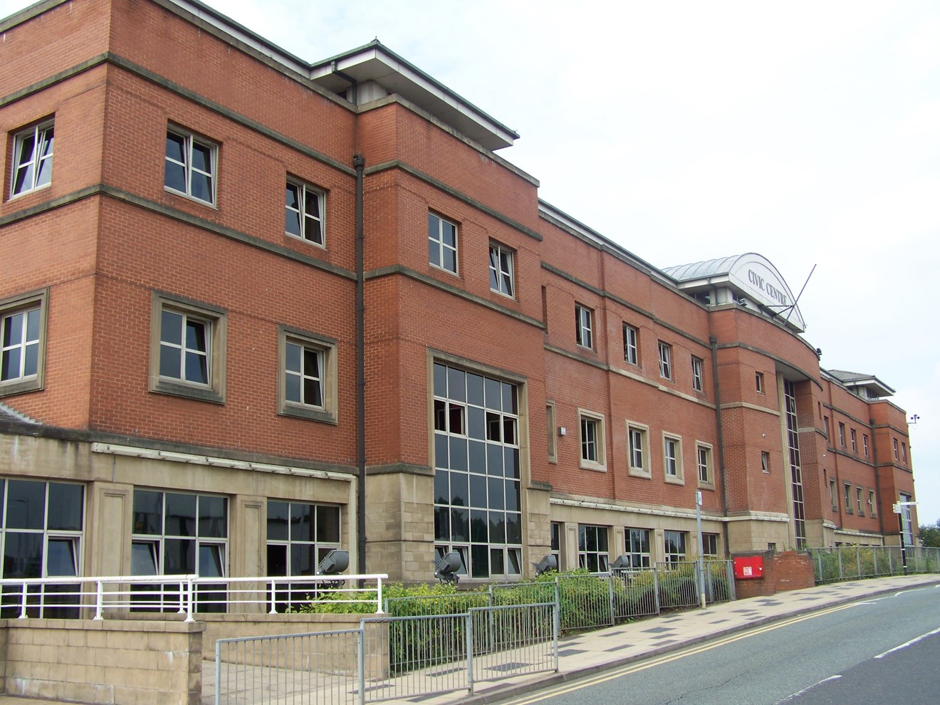 Siemens partners with the Lynx Group to help Stoke-on-Trent City Council make energy efficiencies to save thousands and boost the environment: Stoke Civic Centre