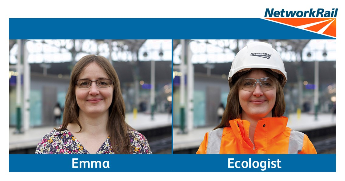 Find a 'New Working You' on the railway at Manchester Piccadilly: New Working You recruitment campaign - Emma ecologist