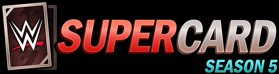 WWE SuperCard: Season 5 Available Today!: WWESC S5 Logo Horizontal