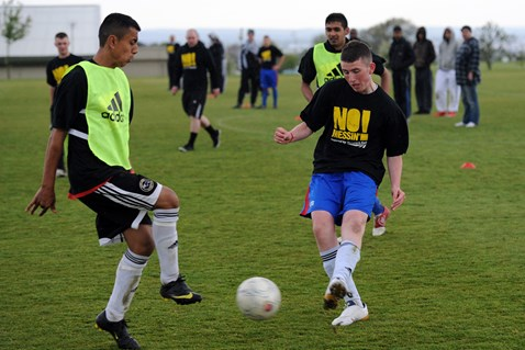 DCITC/Network Rail No Messin' football tournament (2)