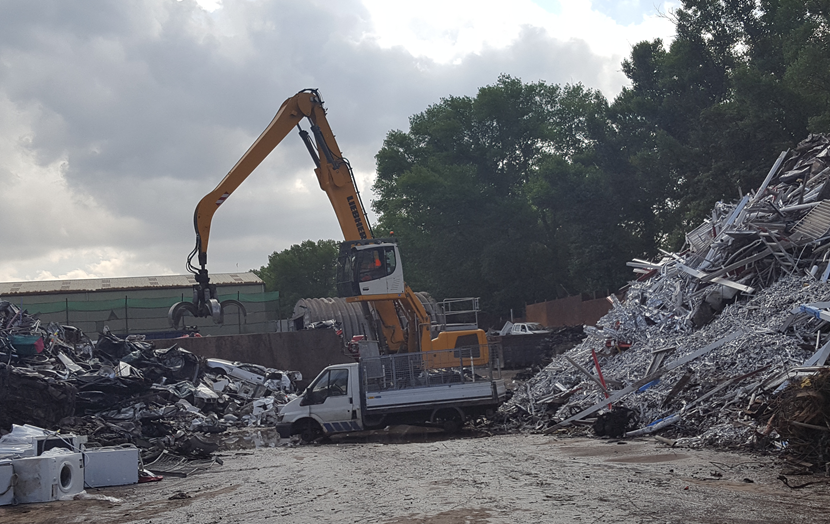Vehicle seized and crushed as crack down on flytipping in Leeds continues: flytippingvanbeforeitwascrushedjuly2018.png