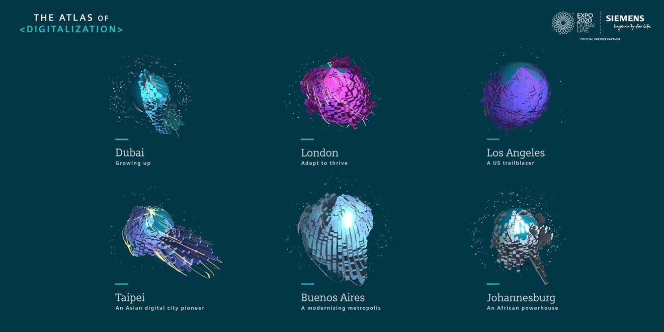 London leads Siemens Atlas of Digitalization as most 'digitally ready' global city: 190409 hero 2160x1080