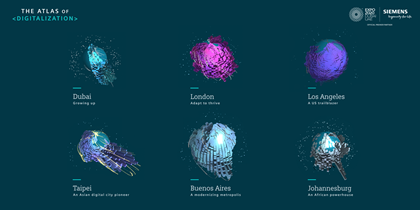 London leads Siemens Atlas of Digitalization as most 'digitally ready' global city: 190409 hero 2160x1080